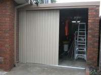 After - Side Roll Garage Roller Doors