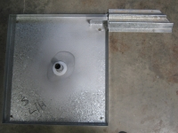 Tray With Bottom Track Fitted