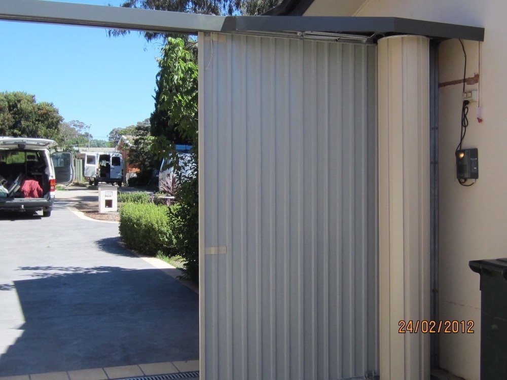 Unusual Situations Garage Roller Camco And Tilt Doors