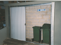 Rubbish Bin Storage - Side Roll Garage Roller Doors