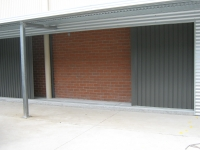 Locker Storage Sheds - Side Roll Garage Roller Doors